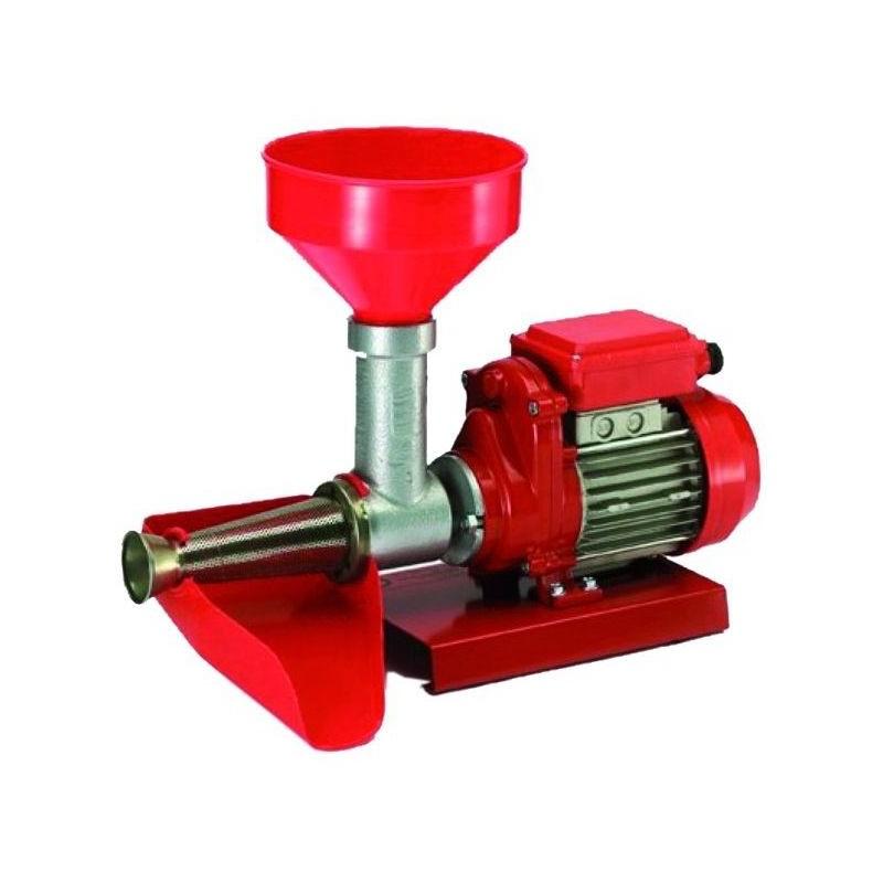 Image of Reber 9008 NE passapomodoro elettrico Rosso, Acciaio inossidabile 400 W