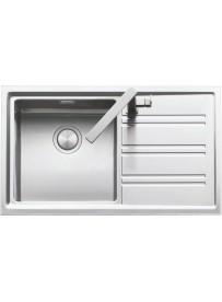 Barazza 1LES91PD Lavandino da cucina per installazione Flush Rettangolare Acciaio inossidabile lavello