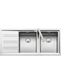 Barazza 1LES12RS Lavandino da cucina per installazione Flush Rettangolare Acciaio inossidabile lavello