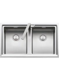 Barazza 1LES92R Lavandino da cucina per installazione Flush Rettangolare Acciaio inossidabile lavello