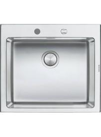 Barazza 1LBO61 Lavandino da cucina per installazione Flush Rettangolare Acciaio inossidabile lavello