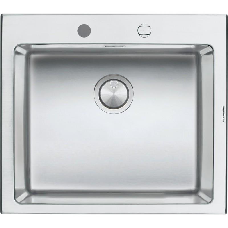 Barazza 1LBO61 Lavandino da cucina per installazione Flush ...
