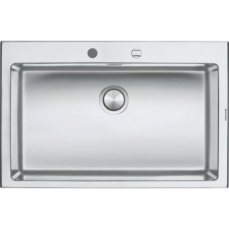 Barazza 1LBO81 Lavandino da cucina per installazione Flush ...