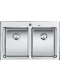 Barazza 1LBO82 Lavandino da cucina per installazione Flush Rettangolare Acciaio inossidabile lavello