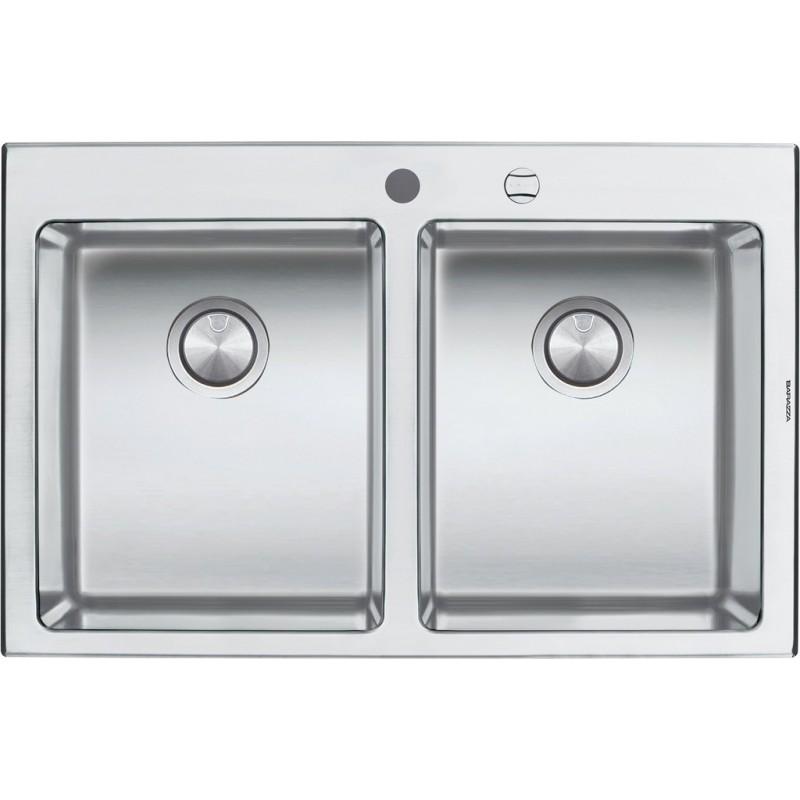 Barazza 1LBO82 Lavandino da cucina per installazione Flush ...