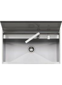 Barazza 1LLB90 Lavandino da cucina per installazione Flush Rettangolare Acciaio inossidabile lavello