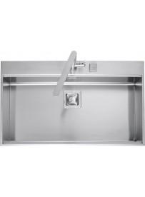 Barazza 1LBF91 Lavandino da cucina per installazione Flush Rettangolare Acciaio inossidabile lavello