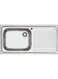 Barazza 1LFS10D Lavandino da cucina per installazione Flush Rettangolare Acciaio inossidabile lavello