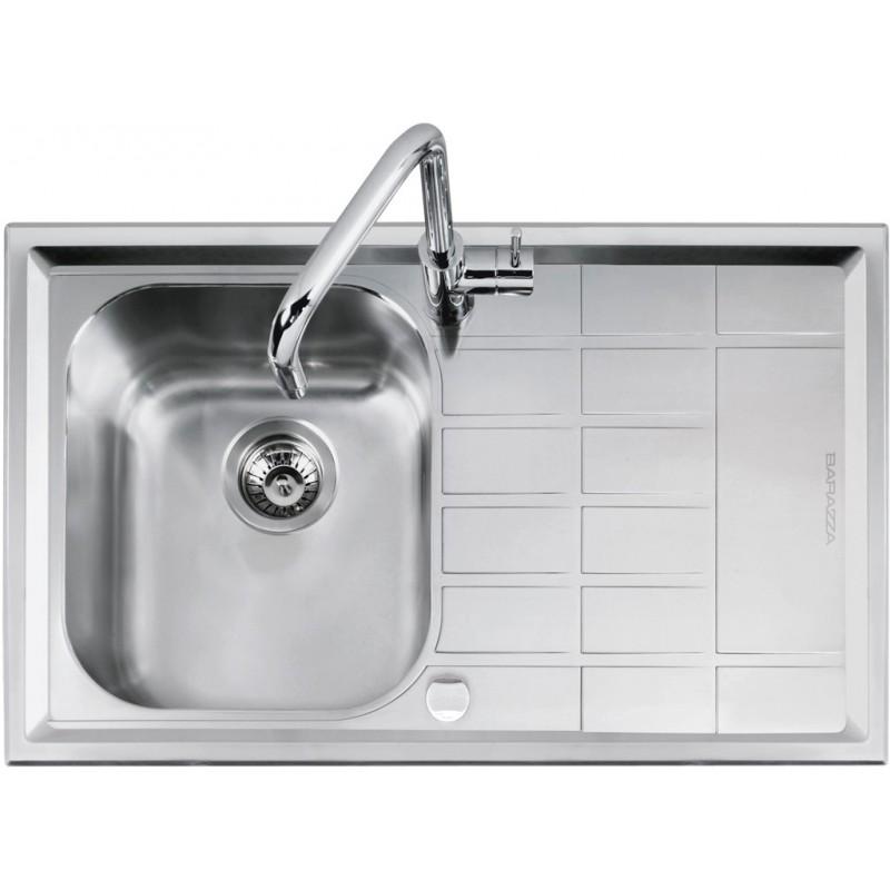 Barazza 1LLV90/1D Lavandino da cucina per installazione Flush ...