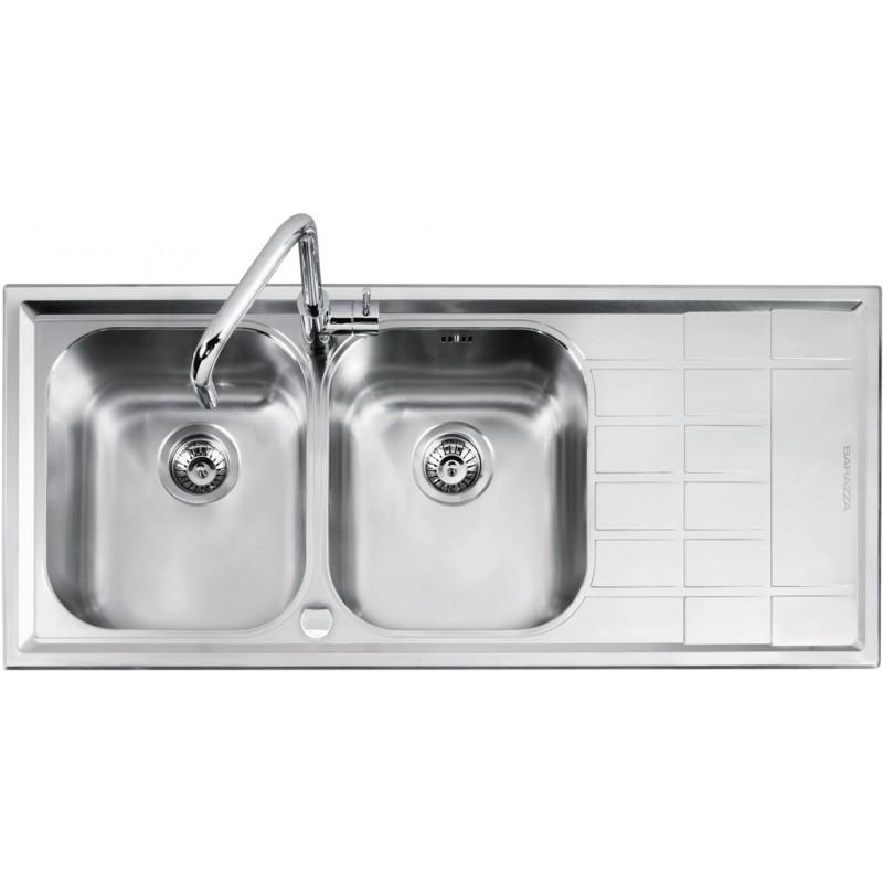 Barazza 1LLV120/2D Lavandino da cucina per installazione Flush ...