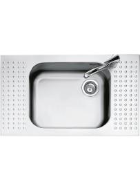 Barazza 1IS9060 1 Lavandino da cucina top-mount Rettangolare Acciaio inossidabile lavello