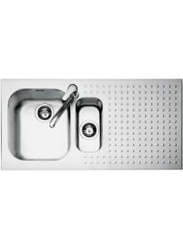 Barazza 1IS10060D Lavandino da cucina top-mount Rettangolare Acciaio inossidabile lavello