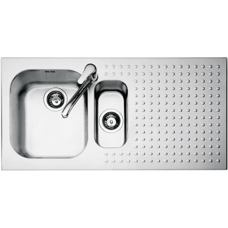 Barazza 1IS10060S Lavandino da cucina top-mount Rettangolare Acciaio inossidabile lavello