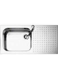 Barazza 1IS10060 1D Lavandino da cucina top-mount Rettangolare Acciaio inossidabile lavello