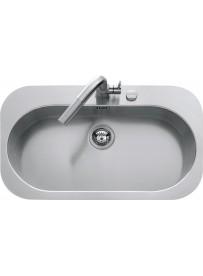 Barazza 1LTA90 Lavandino da cucina per installazione Flush Ovale lavello
