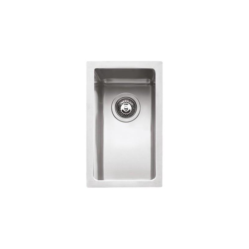 Barazza 1X1840I Lavandino da cucina per installazione Flush Rettangolare  Acciaio inossidabile lavello