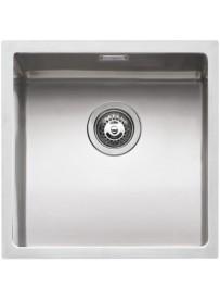 Barazza 1X4040I Lavandino da cucina per installazione Flush Quadrato Acciaio inossidabile lavello