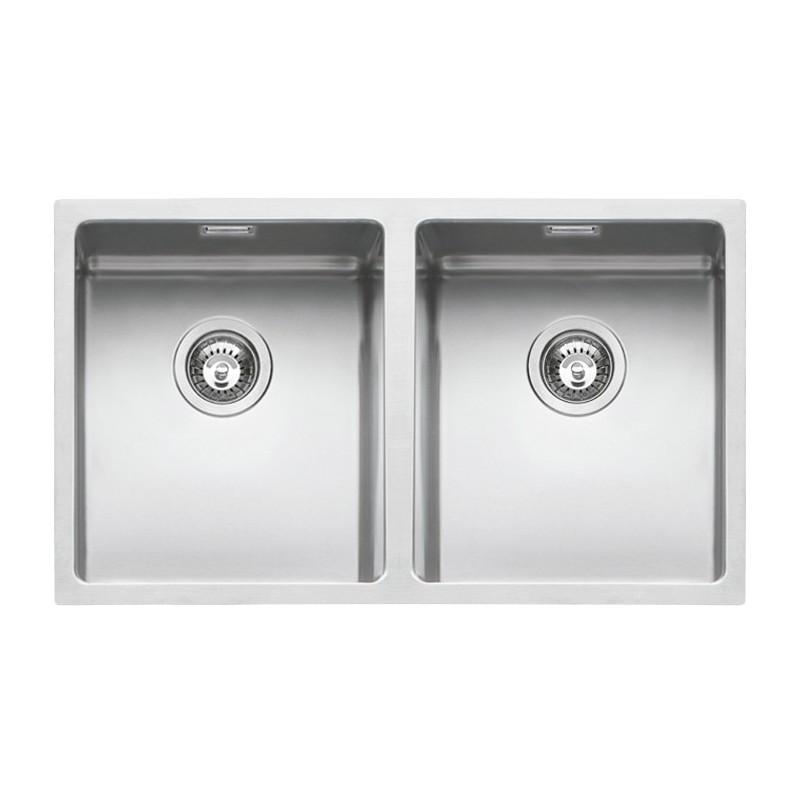 Barazza 1X842I Lavandino da cucina per installazione Flush Rettangolare  Acciaio inossidabile lavello