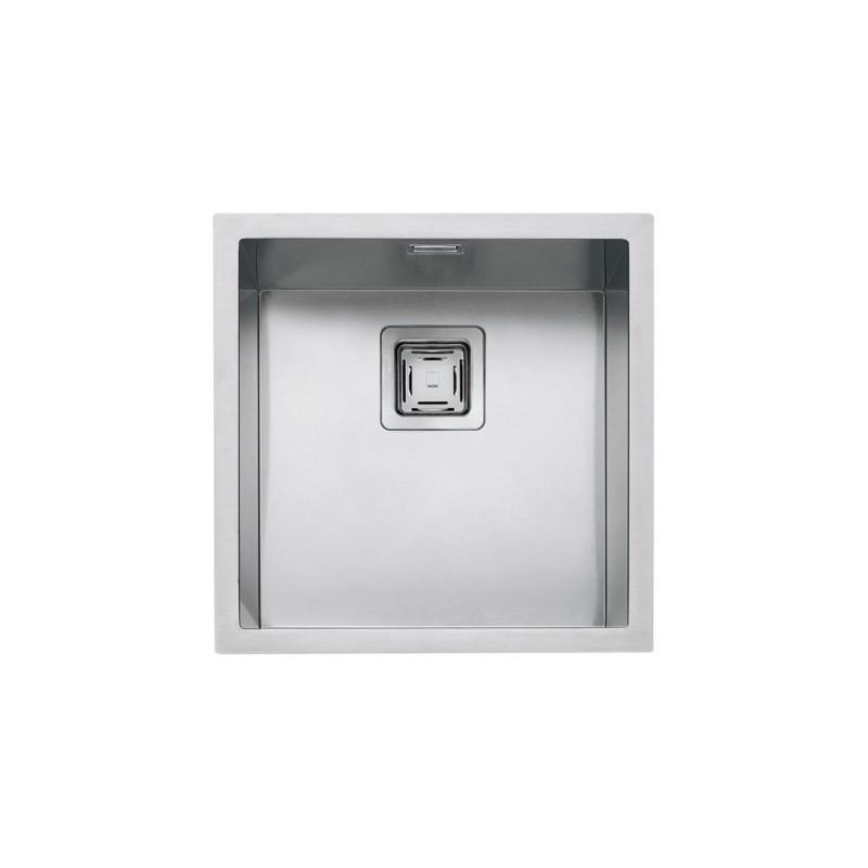 Barazza 1QR4040IQ Lavandino da cucina per installazione Flush Quadrato lavello