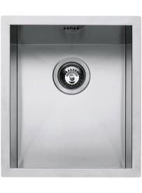 Barazza 1Q3440I Lavandino da cucina per installazione Flush Rettangolare Acciaio inossidabile lavello