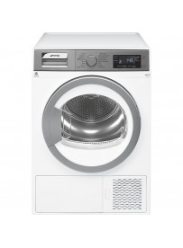 Smeg DGA37EX Libera installazione Caricamento frontale 7kg A+++ Acciaio inossidabile, Bianco asciugatrice