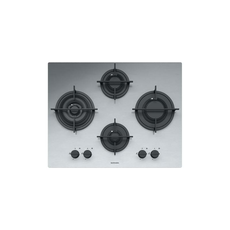 Barazza 1PMD64 Piano Cottura Mood 65cm Incasso Gas 4f Acciaio Inox