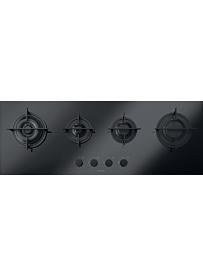 Barazza 1PMD104N Piano Cottura Vetroceramica Mood 110cm Incasso Gas 4f Nero