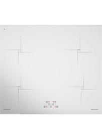 Barazza 1PIDG64B Piano cottura a Induzione Green 60cm Bianco