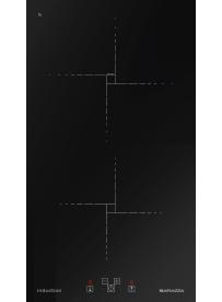 Barazza 1PID32NQ Piano cottura a Induzione Flat 30cm Nero