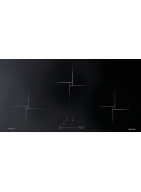 Barazza 1PID93NQ Piano cottura a Induzione Flat 90cm Nero