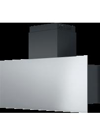 Barazza 1KSTP9 Cappa da Parete Steel 90cm Acciaio Inox/Nero
