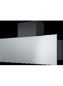 Barazza 1KSTP12 Cappa da Parete Steel 120cm Acciaio Inox/Nero
