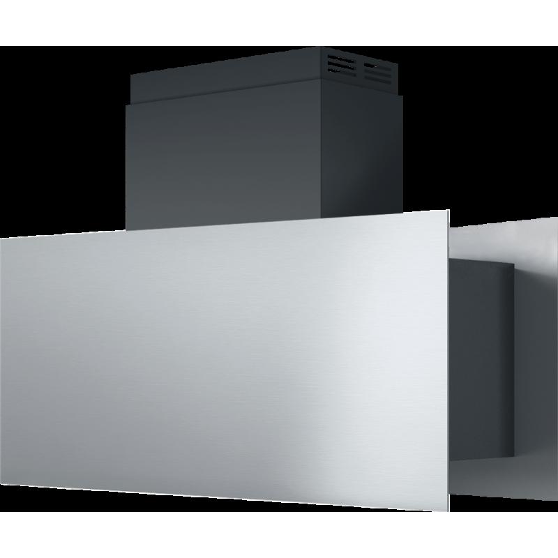 Barazza 1KSTI9 Cappa Isola Steel 90cm Acciaio Inox/Nero A