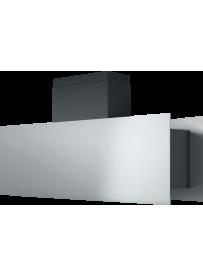 Barazza 1KSTI12 Cappa Isola Steel 120cm Acciaio Inox/Nero A