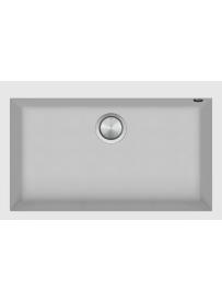 Barazza 1LSO81B Lavello Soul 1 Vasca 79.5x50.5cm B_Granite Bianco
