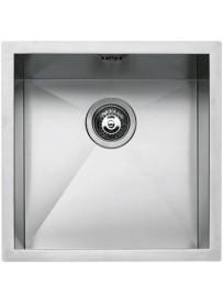 Barazza 1Q4040S lavello Lavandino da cucina per installazione Flush Quadrato Acciaio inossidabile