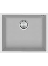 Barazza 1QSO61BS Lavello Quadre Soul 1 vasca 50x40cm B_Granite Bianco