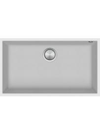 Barazza 1QSO81BS Lavello Quadre Soul 1 vasca 72.5x40cm B_Granite Bianco