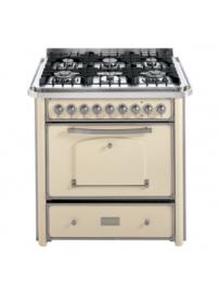 Barazza 1B90M6AVIM Cucina Classica 90cm 6 fuochi Avorio/Inox