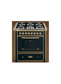 Barazza 1B90M6ANOM Cucina Classica 90cm 6 fuochi con maniglione Antracite/Ottone