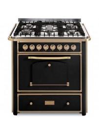 Barazza 1B90M5ANOM Cucina Classica 90cm 5 fuochi con maniglione Antracite/Ottone
