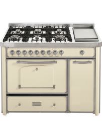 Barazza 1B120AVI Cucina Classica 120cm 6 fuochi Avorio/Inox