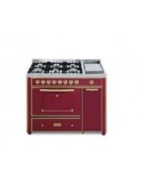 Barazza 1B120BOO Cucina Classica 120cm 6 fuochi Bordeaux/Ottone