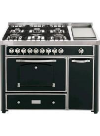 Barazza 1B120ANI Cucina Classica 120cm 6 fuochi Antracite/Inox