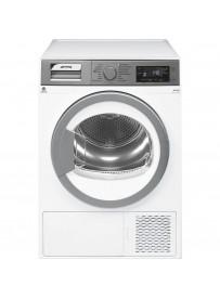 Smeg DHT38PLIT asciugatrice Libera installazione Caricamento frontale Argento, Bianco 8 kg A+++-10%