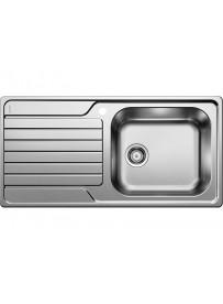 BLANCO 1336788  Lavello Dinas XL 6 S 1 vasca+gocciolatoio 100x50cm Reversibile Acciaio Inox