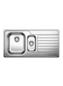 BLANCO 1328105 Lavello Dinas 6 S 1 vasca+vaschetta Sx 100x50cm Acciaio Inox