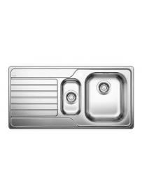 BLANCO 1623379 Lavello Dinas 6 S 1 vasca+vaschetta 100x50cm Reversibile Acciaio Inox