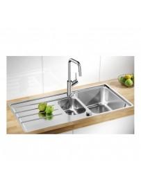 BLANCO 1523033 Lavello Lemis 6 S-IF 1 vasca+vaschetta 100x50cm Reversibile Acciaio Inox