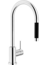NOBILI RD00137/1CR Miscelatore monocomando canna alta doccia monogetto estraibile  Cromo